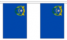 NEVADA (U.S. STATE) BUNTING - 3 METRES 10 FLAGS